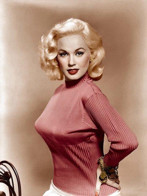 Happy birthday to the eternally glamorous Mamie Van Doren, born in 1931.