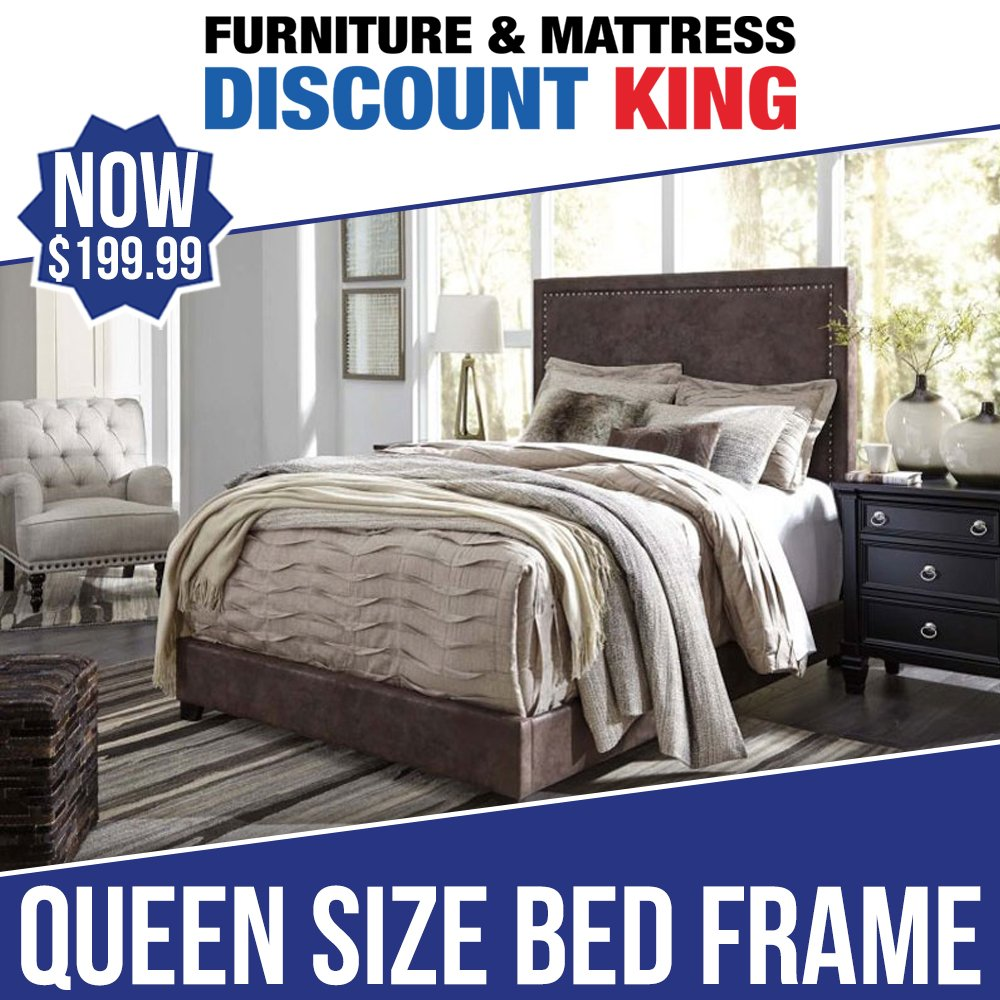 6e55fa78e4fb ... because we're selling these QUEEN SIZE BED FRAMES at the ridiculously  low price of $199.99! Details: http://ow.ly/o6Lw30nzBRa #FMDiscountKing  #Furniture ...
