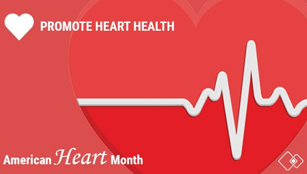 Heart disease is the leading cause of death in the United States for both men and women. Join us in making a commitment to #hearthealth not just this month – but year round. #AmericanHeartMonth