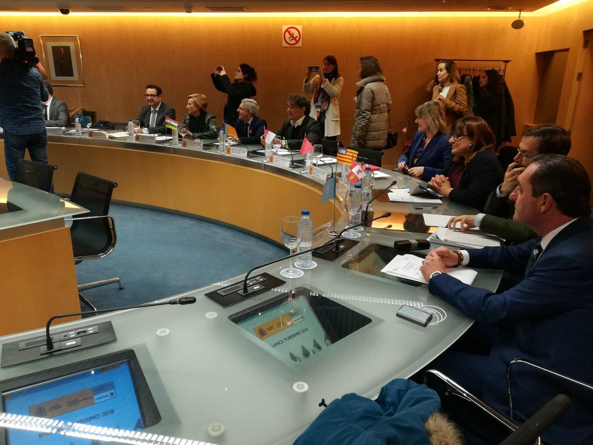 Busquets asiste a la Conferencia Sectorial de Turismo en Madrid