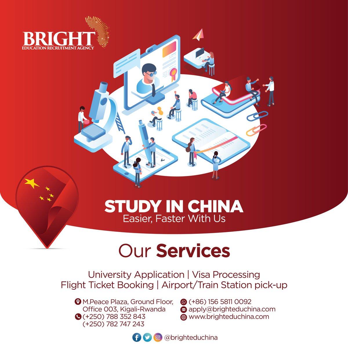 Bright Education Recruitment Agency Study in China (@brighteduchina