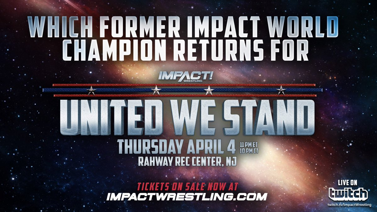 Impact Wrestling Teases The Return Of A Former World Champion