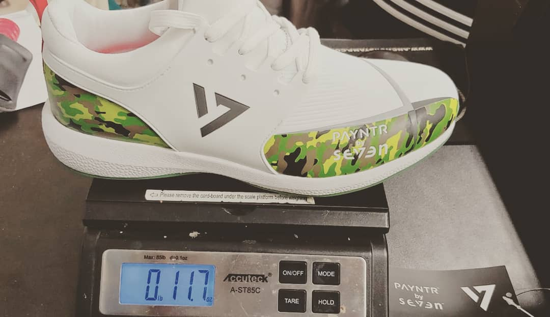 Seven Cricket Shoes by Payntr in Camo