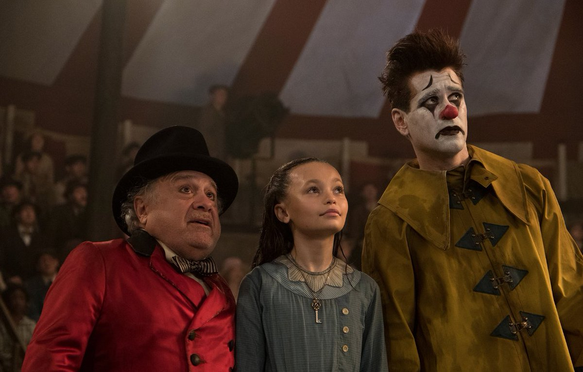 See Colin Farrell and Danny DeVito in the latest trailer for Tim Burton's live-action #Dumbo movie https://rol.st/2DaKMC2