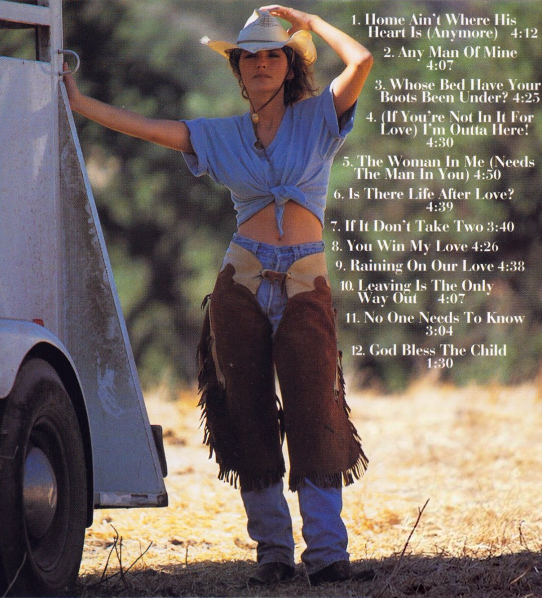 Shania Twain S Tweet Favourite Song From The Woman In Me