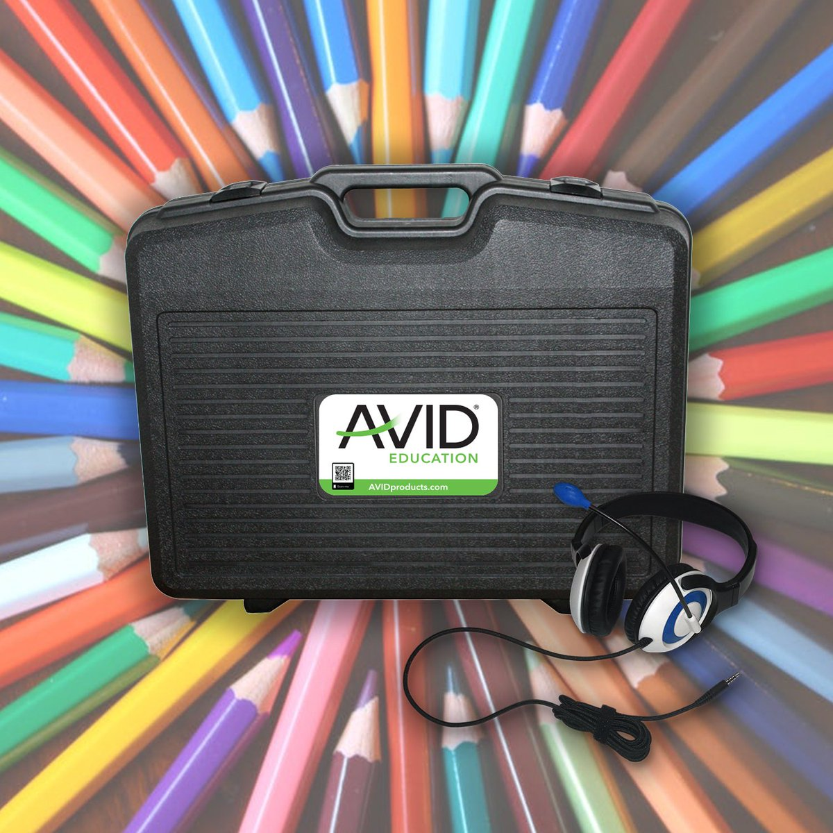We love our handy Class Pack for teachers, and if you're at #TCEA today you can win your own! Come by booth 880 before 3pm to enter. See you soon! 🎧  #edtech #avideducation