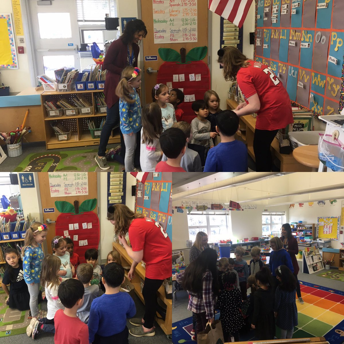 Mrs. Wexler and the Green Team presenting to Ms Gutowski's class about recycling.  The team got the students actively engaged in recycling activities. <a target='_blank' href='http://twitter.com/GlebeAPS'>@GlebeAPS</a> <a target='_blank' href='http://search.twitter.com/search?q=GlebeEagles'><a target='_blank' href='https://twitter.com/hashtag/GlebeEagles?src=hash'>#GlebeEagles</a></a> <a target='_blank' href='https://t.co/KImOJqLMZn'>https://t.co/KImOJqLMZn</a>