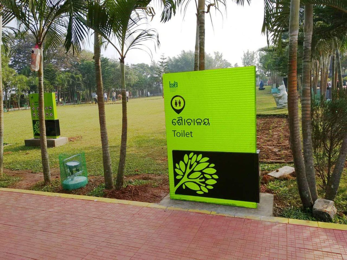 test Twitter Media - The parks of #Bhubaneswar has been equipped with all new signage and way finding facilities! Both Odia and English language has been used to communicate, so as to make it easy for everyone to understand. https://t.co/QpjcurrLDO