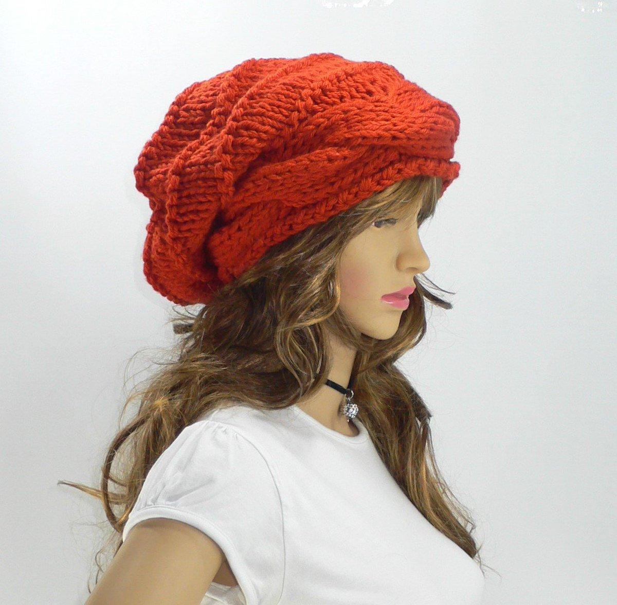 d20c7ad808e ... Women Orange Knit Hat Goth Hat Pixie Hat Slouchy Knit Hat Slouch Beanie  Hand Knit Hat Knit Beanie Woodland Clothing https   etsy.me 2GdtWXa   accessories ...
