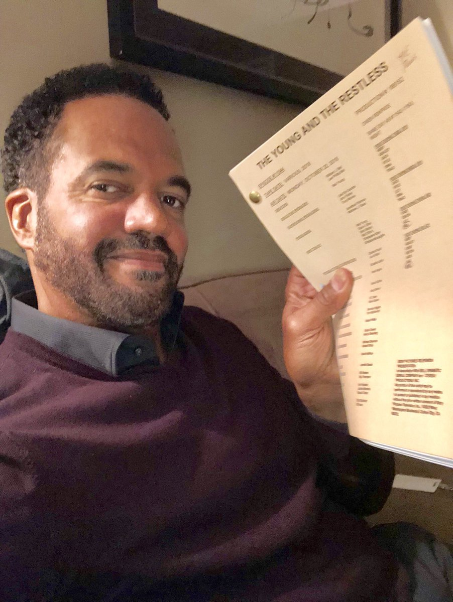 """My dear friends... today our beloved Kristoff St. John's last episode of """"The Young & the Restless"""" airs...  let's honor this great man by retweeting & spreading the word & making this one of #yr 's highest rated episodes ever! #GoneButNeverForgotten #MyBrother"""