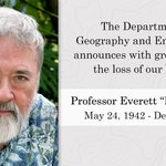 Image for the Tweet beginning: The Department of Geography and
