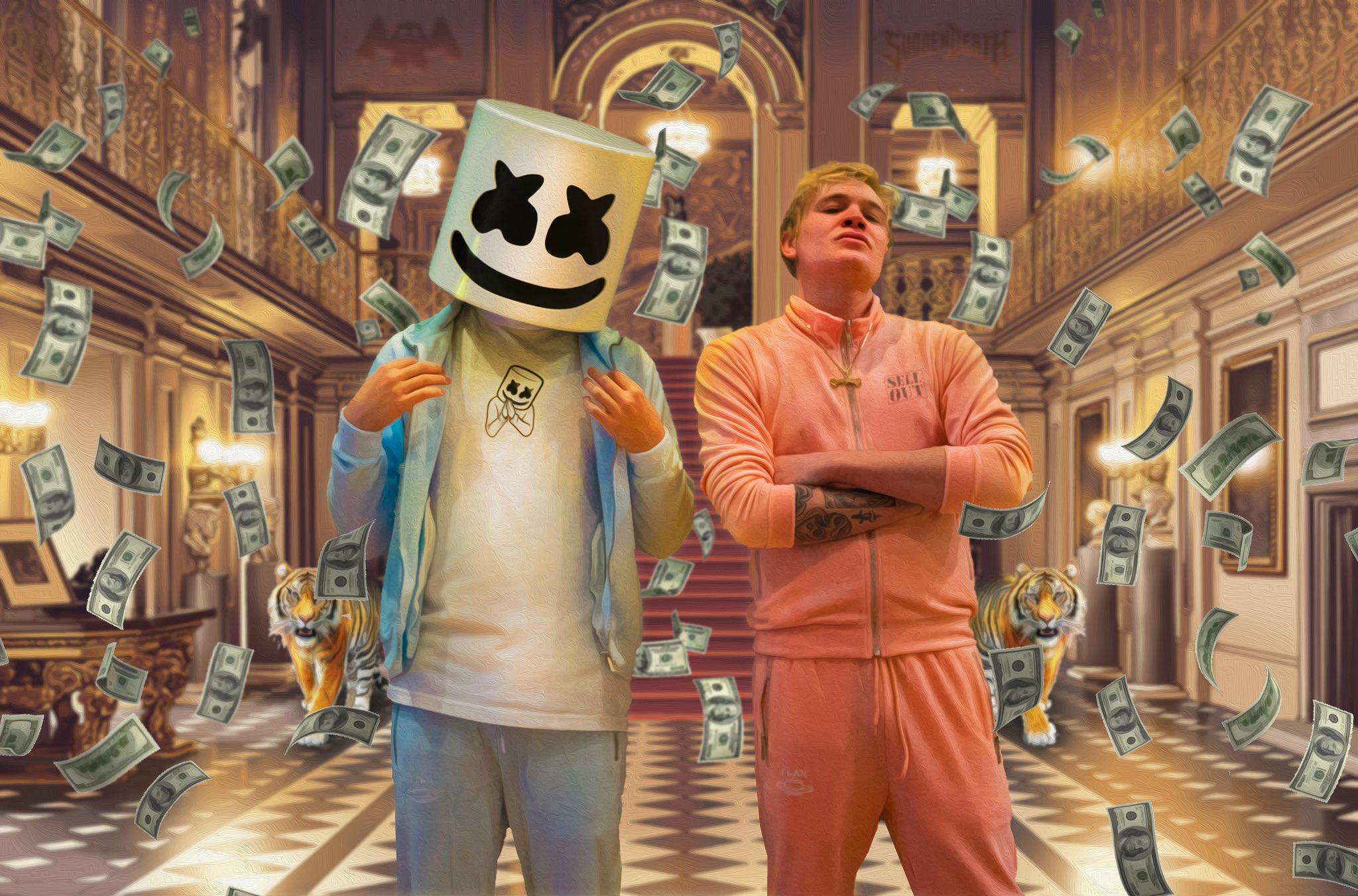 Take a Listen to Marshmello's Insane Collab with SVDDEN DEATH