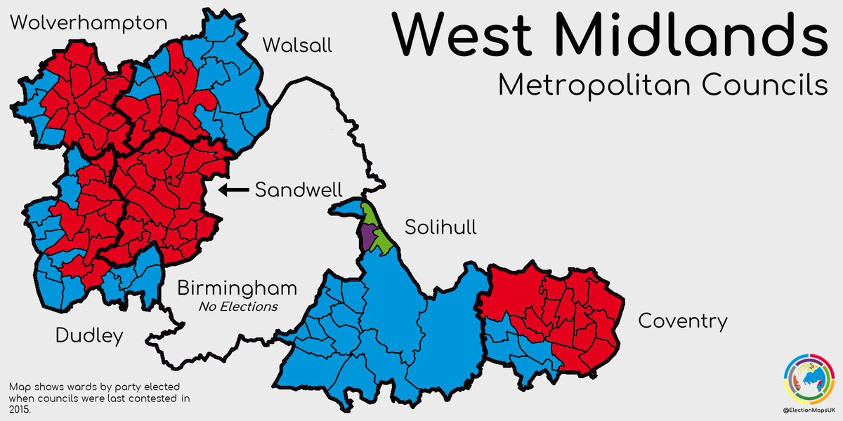 Map Of Uk Midlands.Election Maps Uk On Twitter There S Local Elections In All The