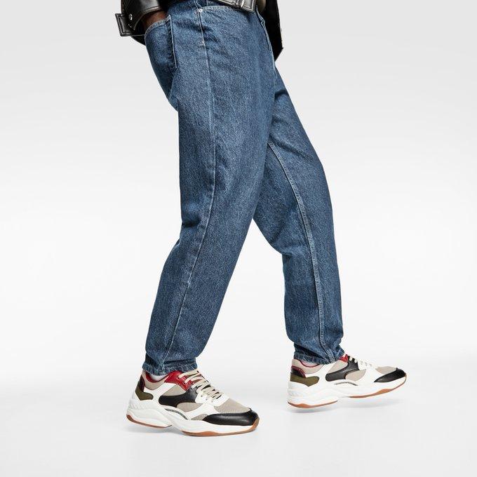 b80844ba285e This is #zaranewin | Chunky sole sneakers go.zara/chunkysolesnea…