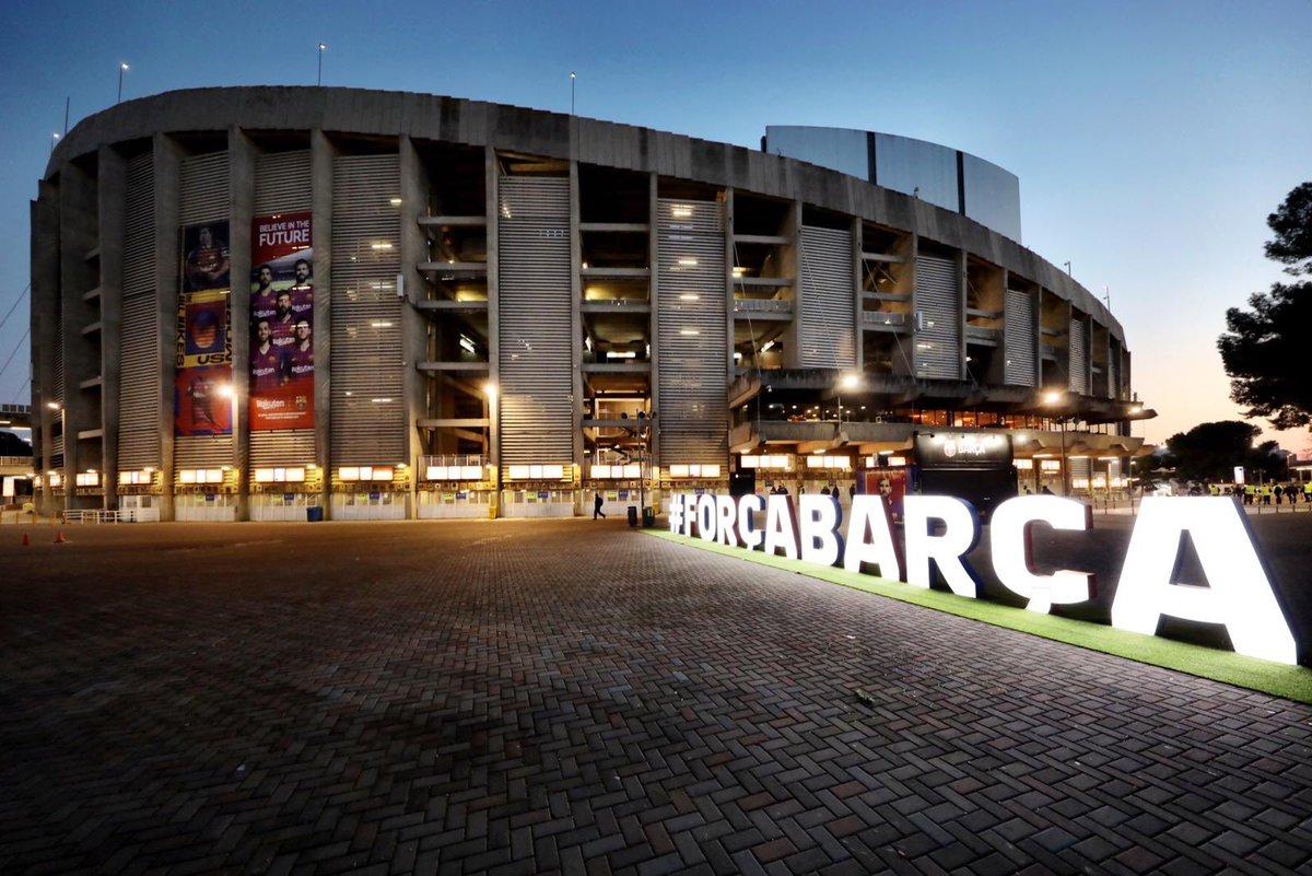 d8446fbf8a704 Camp Nou ⌚ Faltam 2h para  ElClásico 😉 Arriscaria um placar  💪
