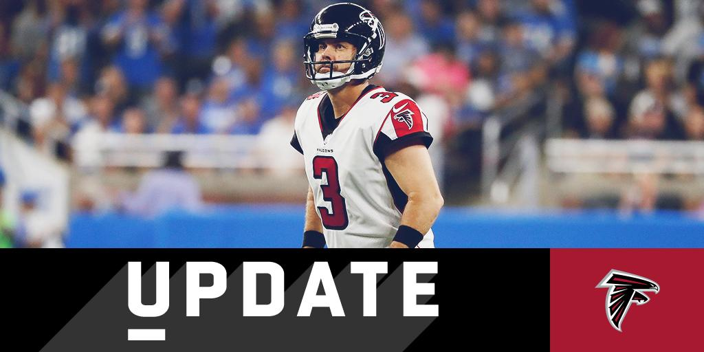 Kicker Matt Bryant says he's being cut by Falcons: https://t.co/EMxMAbdkfE https://t.co/N1TdX96a4k