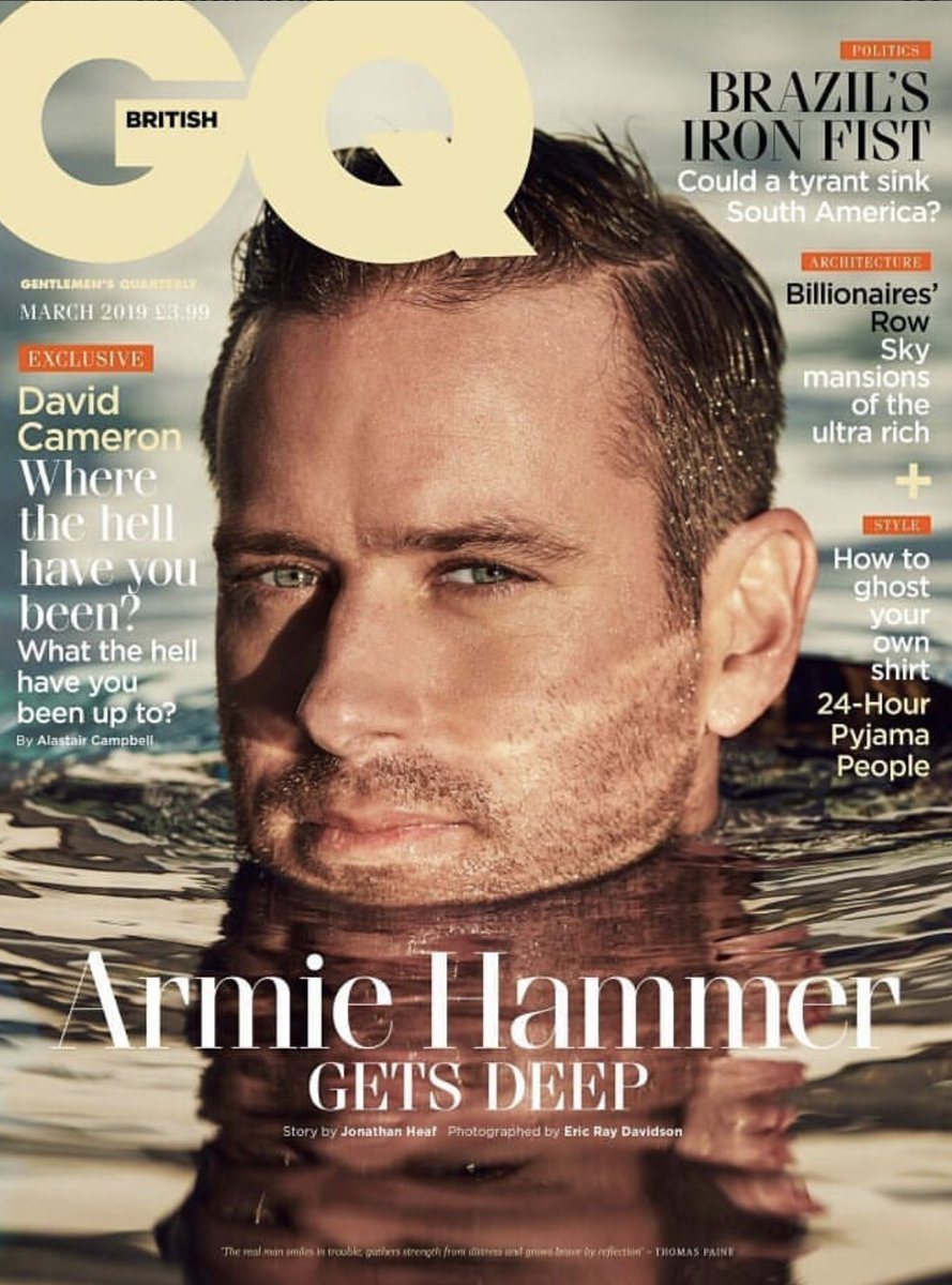 Armie hammer sexy seems remarkable