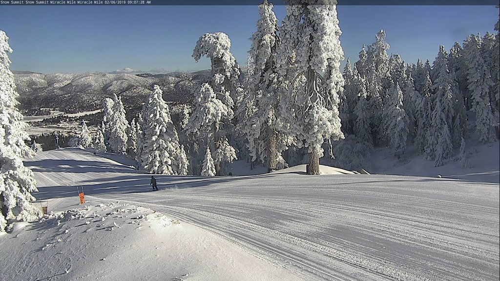 San Diego To Big Bear >> Nws San Diego On Twitter That Is Big Bear Snow Summit Ski