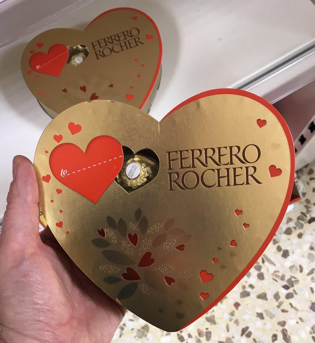 Well This Is New On Twitter Ferrero Rocher Heart At Tesco Ferrerouk Ferrerorocher Ferrero Chocolate Valentines Valentinesday Heart Wellthisisnew Https T Co C2cr7kknj9