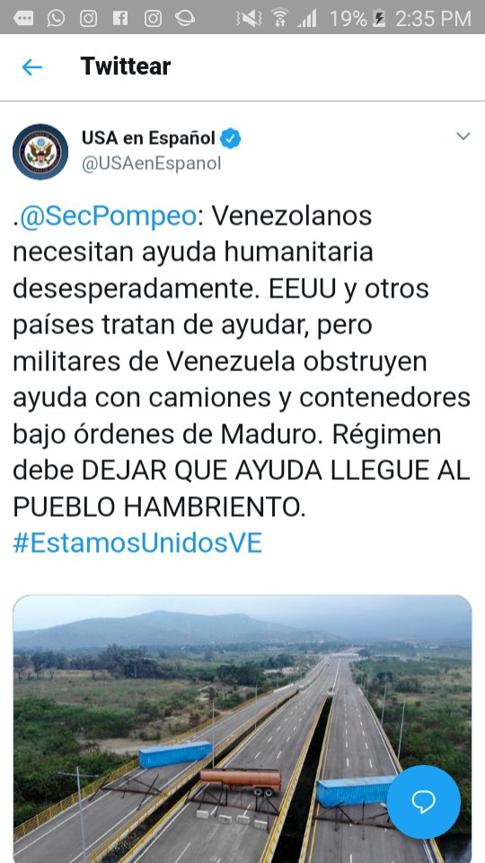 Maduro: Si algo me pasa, ¡retomen el poder y hagan una revolución más radical! - Página 6 DyvlSCdXcAIMSHT