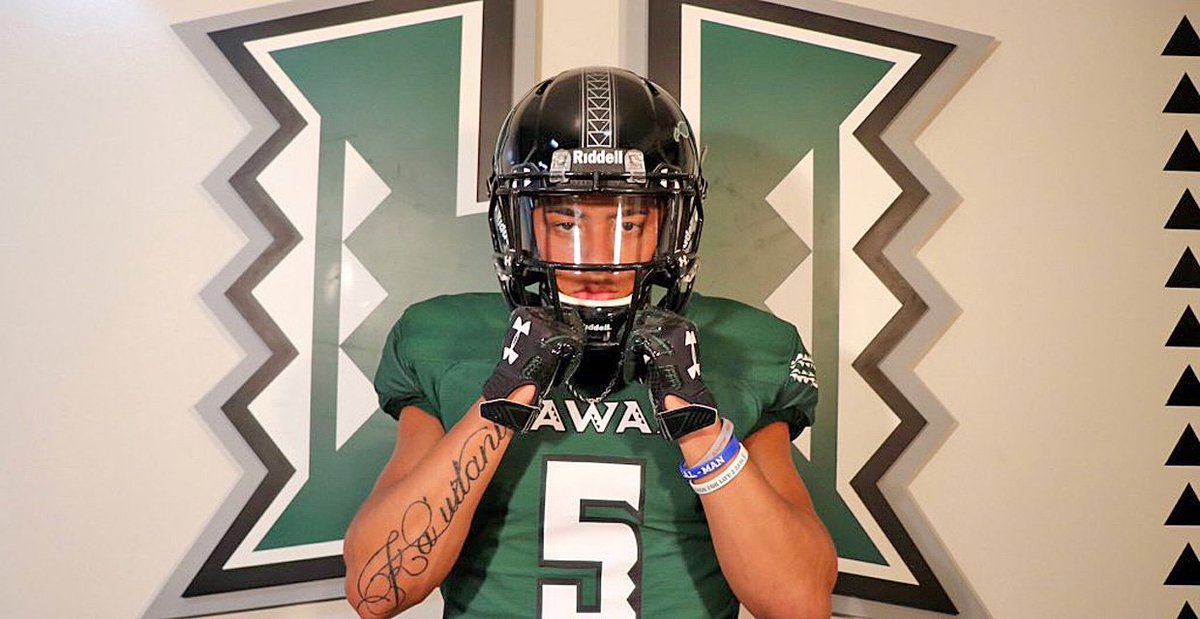 6db115608 ... to sign with Hawaii https   247sports.com Article Hawaii-lands-three-star-ATH-Lincoln-Victor-on-Signing-Day-128785857   …pic.twitter.com rGHR3n6RjA