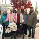 When it's cold outside you can still get some exercise. Our Walking Group is ready to walk @TsawwassenMills! It's fun and maybe a tad warmer than outside at the moment! #walking #WalkingGroup #augustinehouse #forbetterretirementliving