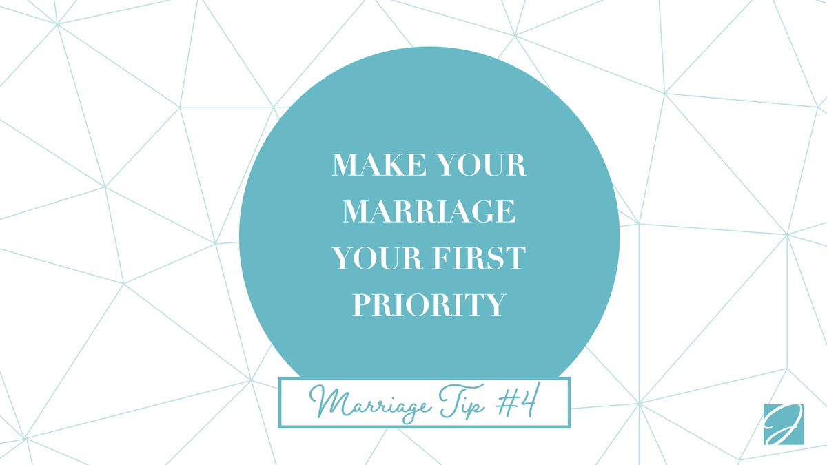 Marriage Tip #4: When you wake up in the morning, think of one thing you can do for your spouse to make their day better! #MarriageTip  #FirstPriority
