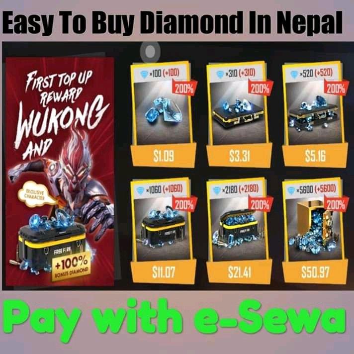 Free Fire Diamond Purchase Nepal (@FreeFireNepal) | Twitter