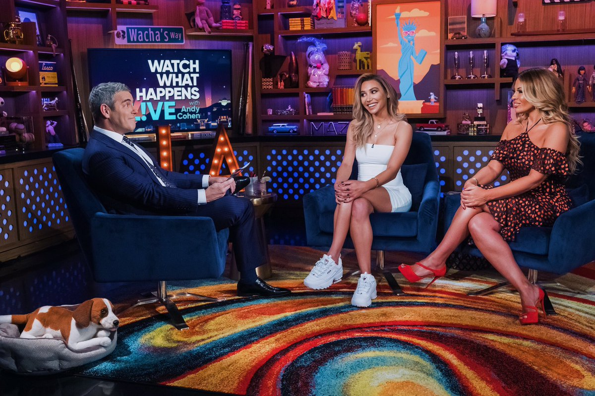 Tune in to @bravowwhl tonight at 11pm for all the tea with @Andy #wwhl