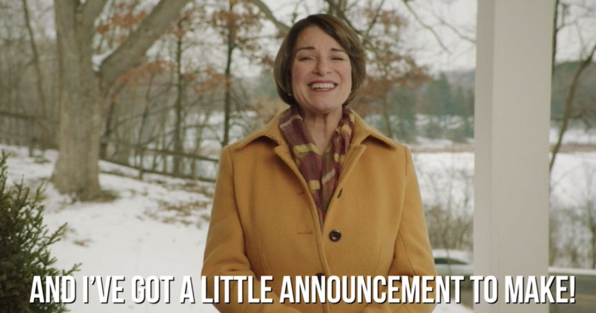 Bundle up! I've got a big announcement to make. Let us know you'll be there: http://amyklobuchar.com