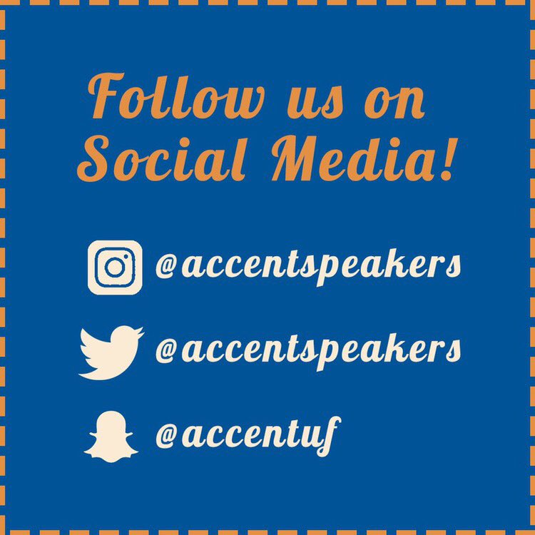 Don't forget to follow us on all social media platforms to get the latest information about upcoming shows!