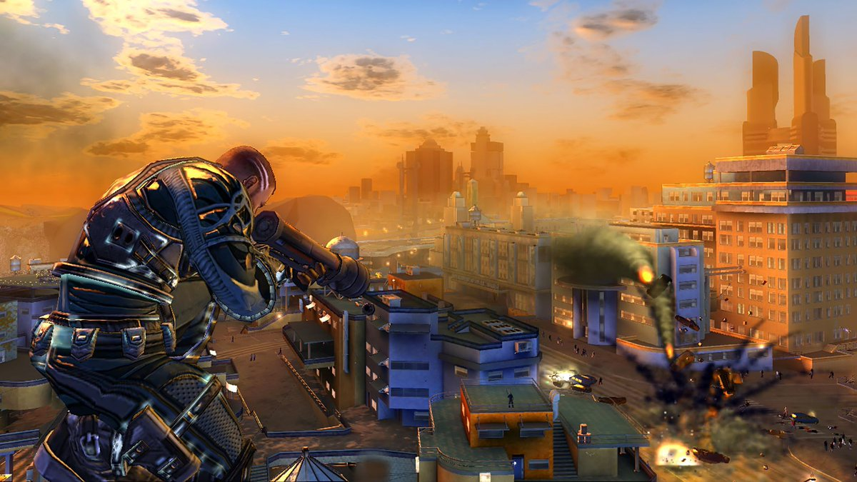 The original Crackdown is free on the Xbox One