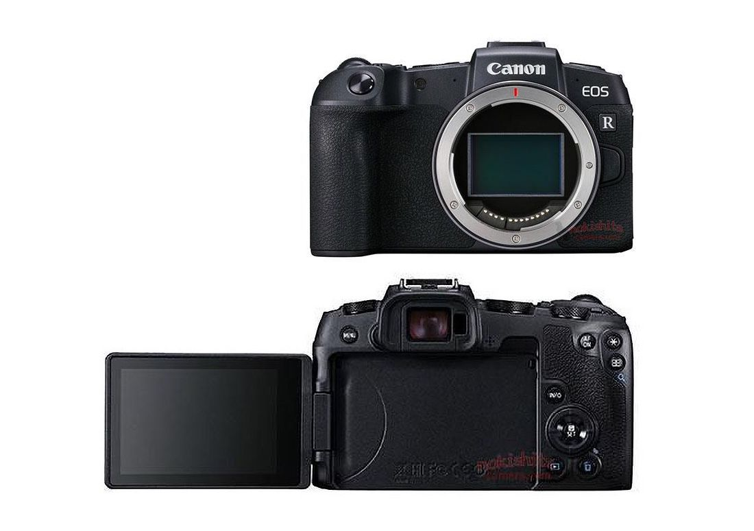 Canon EOS RP leak reveals much lighter, smaller full-frame mirrorless camera