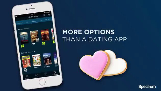 Go ahead, be picky. There are thousands of winners on the #SpectrumTVApp.