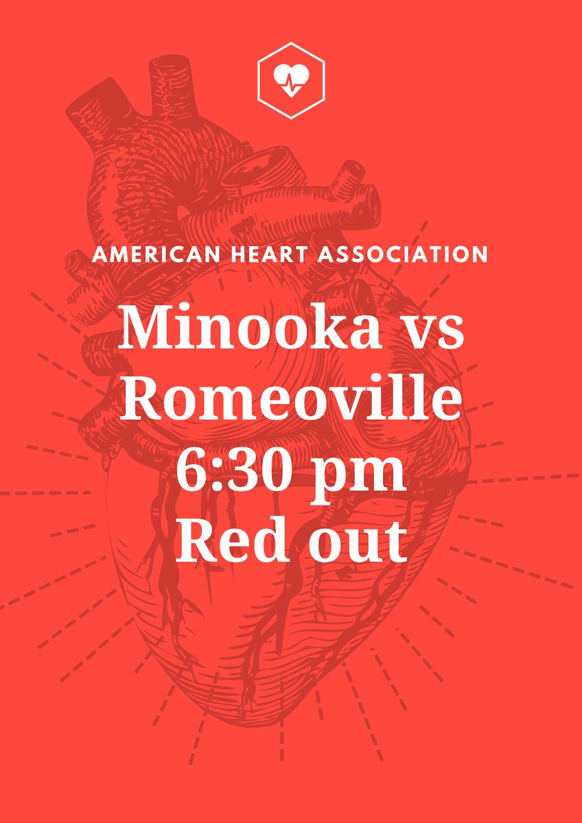 HUGE HOME GAME FOR BOYS BASKETBALL THIS FRIDAY!!! Opponent: Romeoville Game Time: 6:30 Theme: Red out ALL PROCEEDS GO TO THE AMERICAN HEART ASSOCIATION!! GUY/GIRL DANCE AT HALFTIME!!! HOPE TO SEE YOU ALL THERE!!!