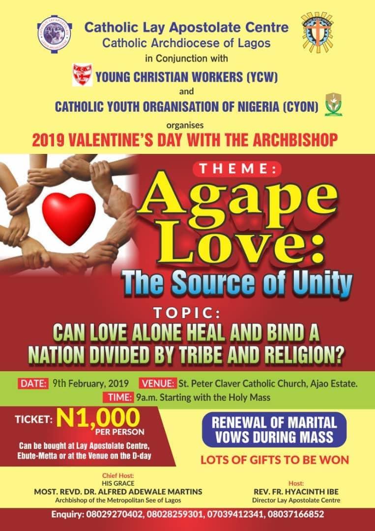 agape love catholic