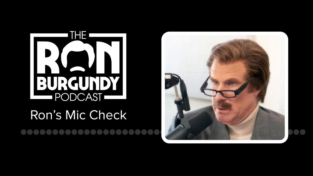 Get ready for a mouthful of Ron (and his big ole apple) Burgundy. https://www.funnyordie.com/2019/2/6/18214828/ron-burgundy-podcast-true-crime …