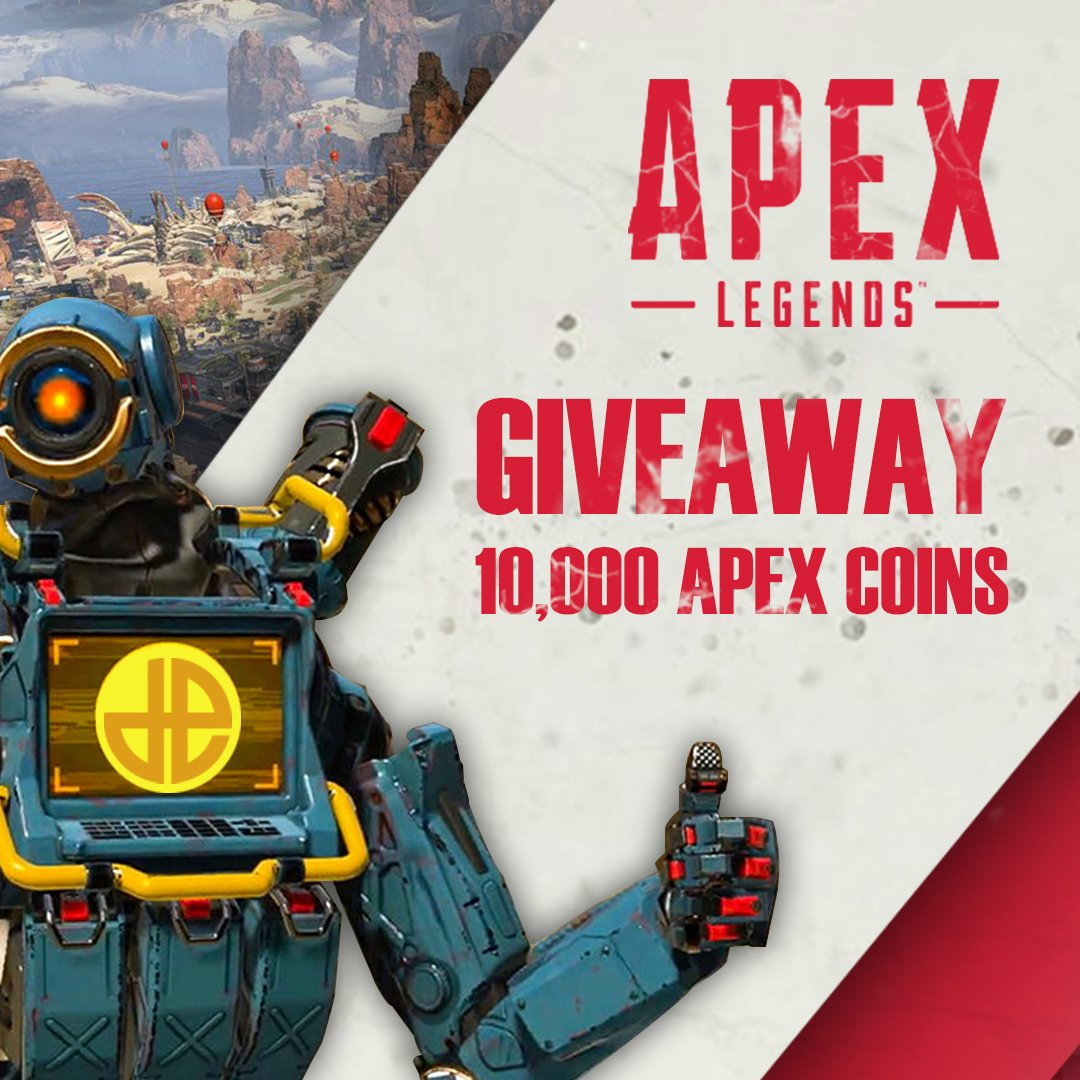 🚨 10,000 #ApexLegends Coins Giveaway! 💰  To enter:  1. Follow http://Instagram.com/Dexerto 2. Follow @TitanfallBlog 3. RT & Like this Tweet 4. Tag 3 friends  Winner will be announced Monday February 11th 👀