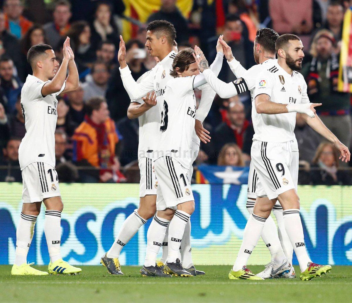 #BarcaRealMadrid 1-1 Partido de vuelta de las semifinales de la #CopaDelRey El @realmadrid y el @FCBarcelona_es lo dejan todo para la vuelta, aunque nuestro equipo parte con ventaja por el valor de los goles fuera de casa. El #EstadioSantiagoBernabéu dictará sentencia el día 27.