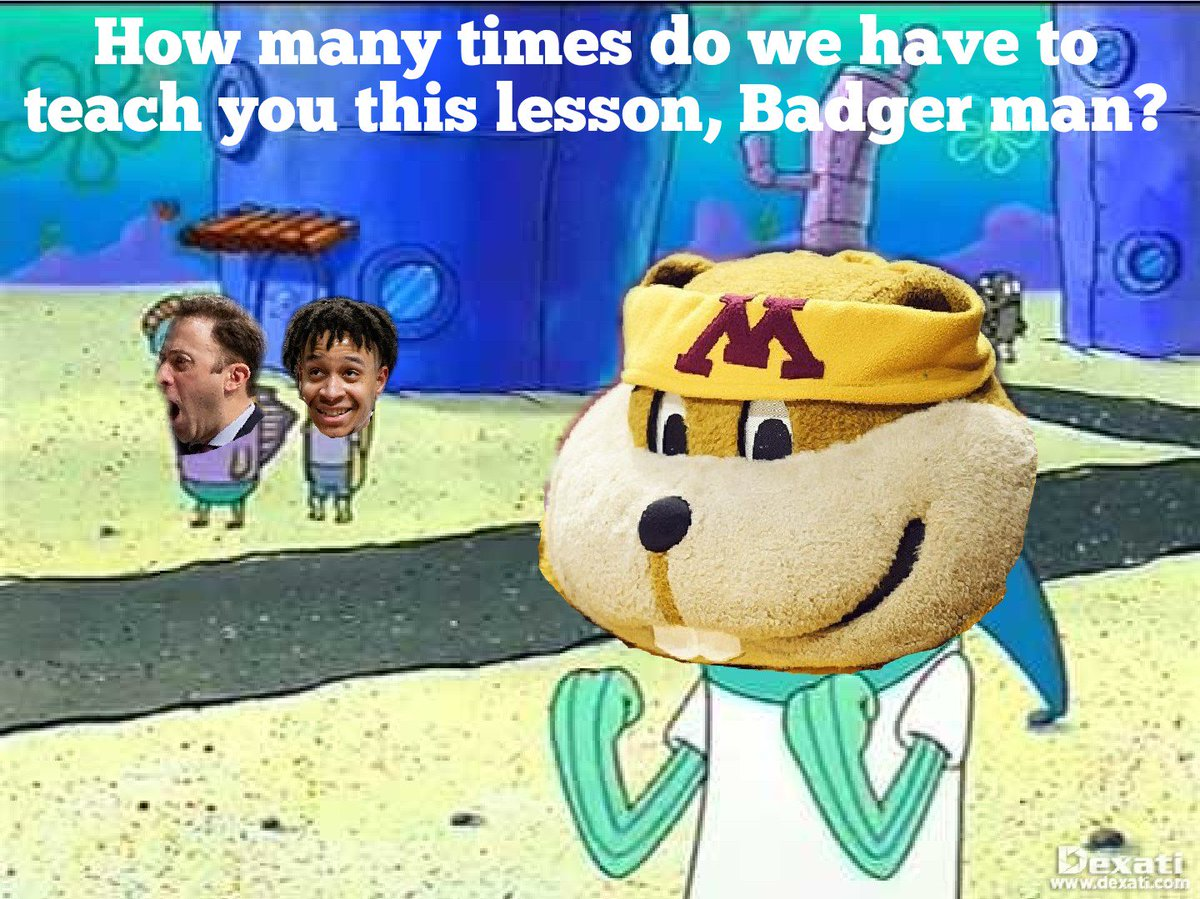 When you see @GopherMBB plays Wisconsin tonight... – at Williams Arena