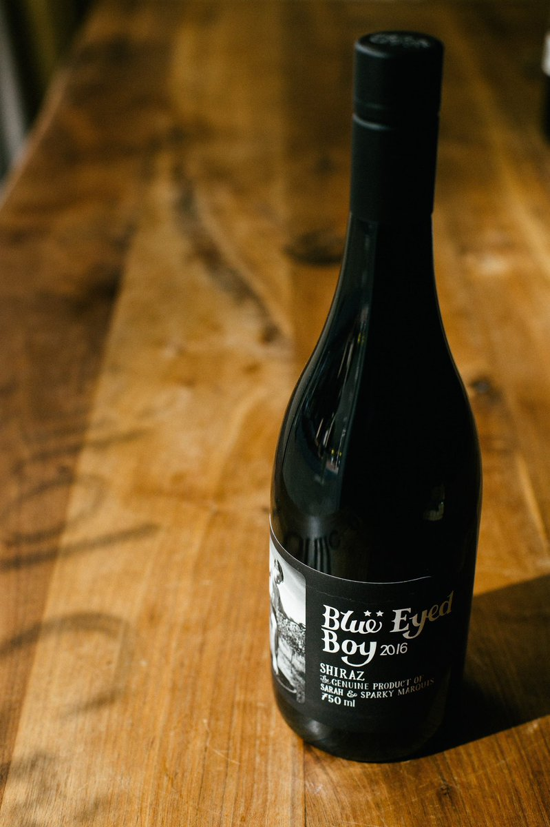 If we had to pick one way to spend #WineWednesday , it's surely with Blue Eyed Boy from @MollydookerWine 🍷Who else is ready for a glass of this Shiraz, with notes of vanilla bean & black cherries 🙋🏻‍♂️⠀
