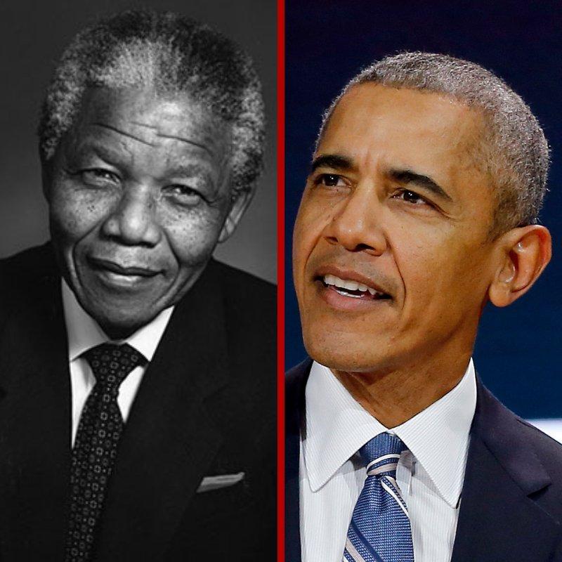 Nelson Mandela - South Africa's 1st non-white President.  Inaugurated on May 10 1994, and ended on June 14 1999.    Barack Obama - United States of America's 1st Black President. Inaugurated on January 3, 2005 and ended on November 16, 2008.  #acwof #blackpower #blackhistorymonth