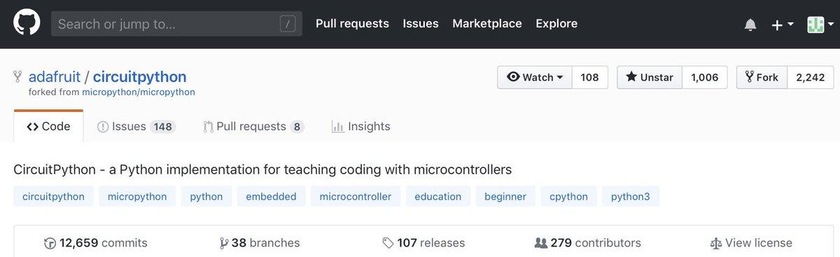 micropython hashtag on Twitter
