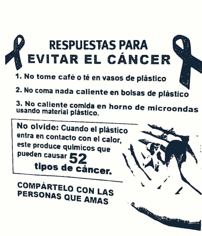 un horno de microondas puede causar cáncer de próstata