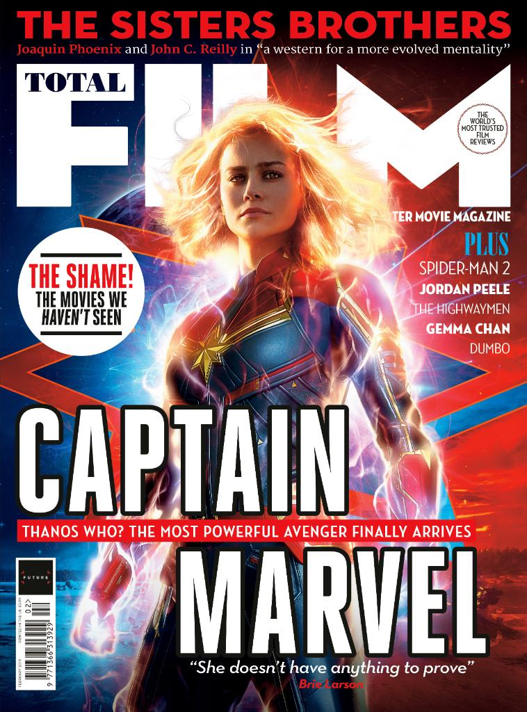 Take a look at the new @TotalFilm magazine cover and subscriber's edition of the latest issue, featuring Marvel Studios' #CaptainMarvel! Read more: https://bit.ly/2TAAt0V