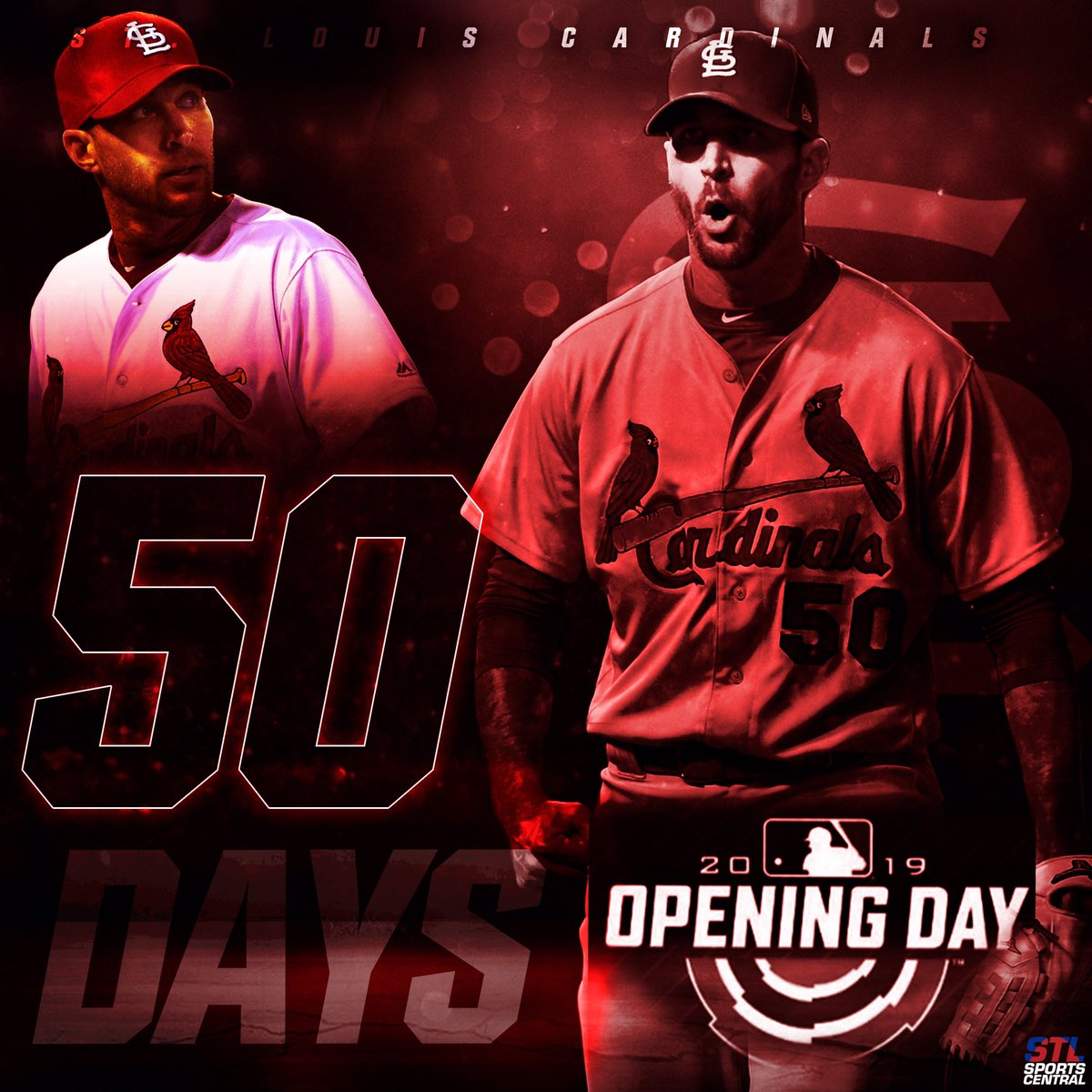 50 days until Opening Day #STLCards