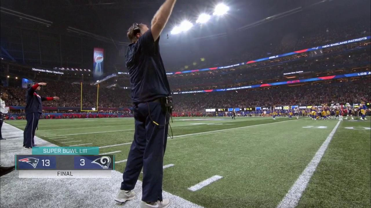 The moment the @Patriots won their SIXTH @SuperBowl title. �� #SBLIII #NFLMicdUp (via @nflfilms) https://t.co/B38IPKLt95