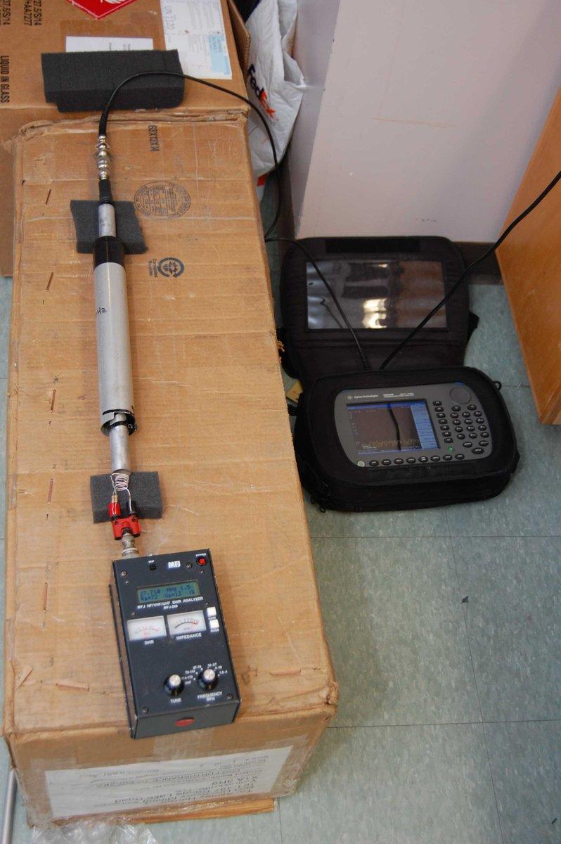 Troubleshooting Cushcraft AV-5 traps with MFJ-269 SWR meter