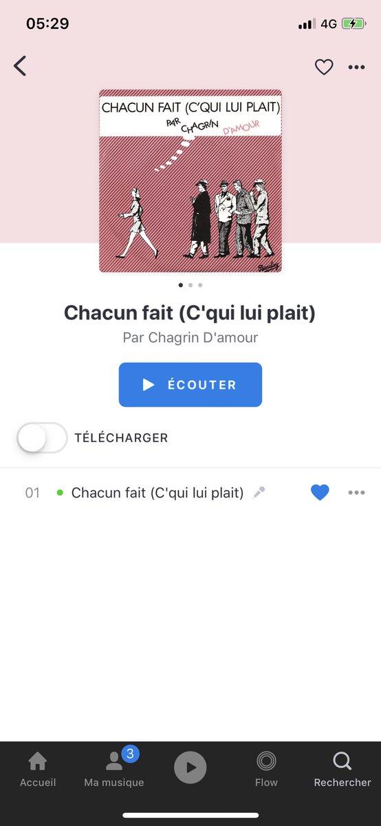 CHAGRIN CHACUN CQUI PLAIT LUI TÉLÉCHARGER DAMOUR FAIT