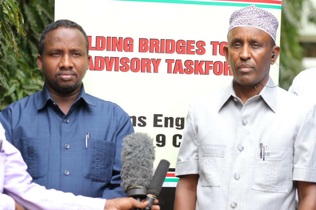 I asked the Building Bridges Initiative to include in their recommendations the scrapping of the 3 mile strip boundary off River Tana that has been and continues to be recipe for conflicts between the communities of Garissa and Tana River counties.